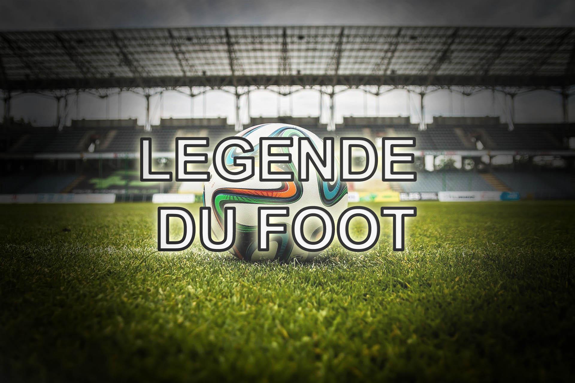 fond ecran legende du foot