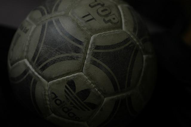 L'évolution du ballon de foot